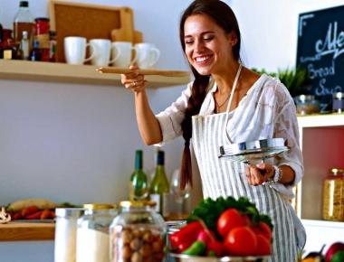 בישול מהנה במטבח