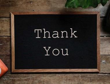 שלט תודה רבה