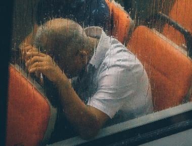 איש מאוד מאוד עייף