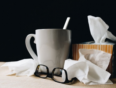 טישו ותה חם לחולה סינוסיטיס